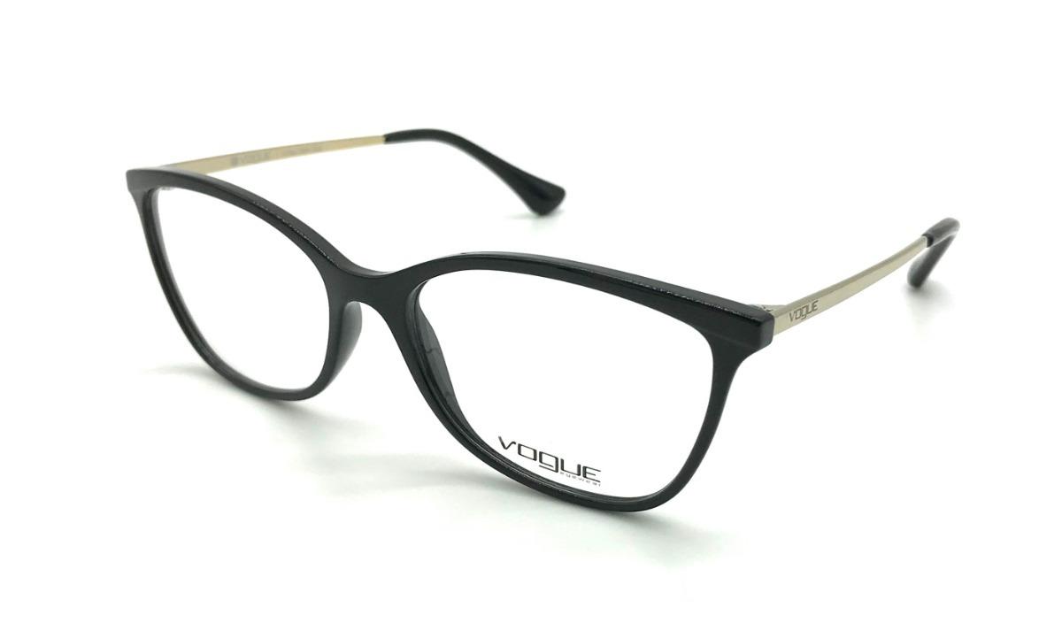 73ff05c356f1c óculos de grau feminino vogue vo5077 w44 preto - original. Carregando zoom.