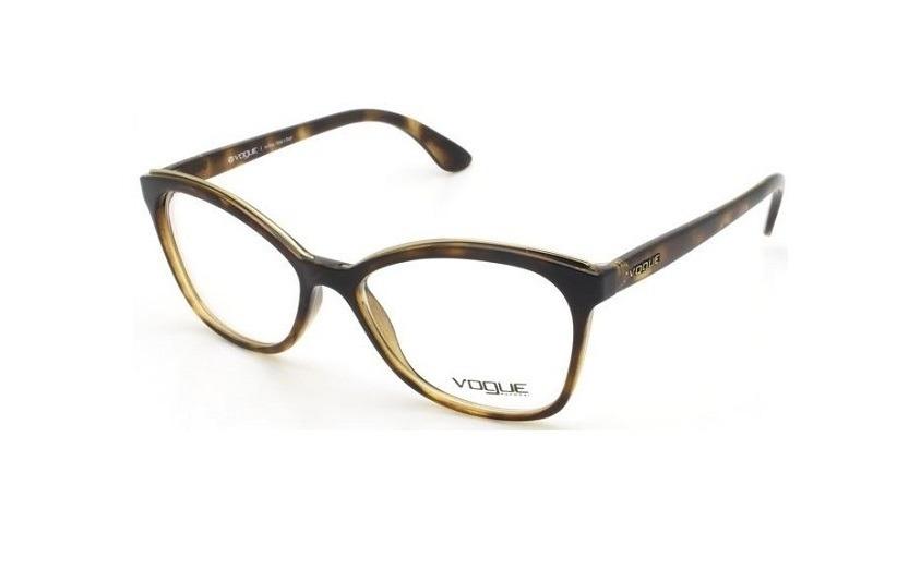 f1252e981d3b4 óculos de grau feminino vogue vo5160 w656 tartaruga original. Carregando  zoom.
