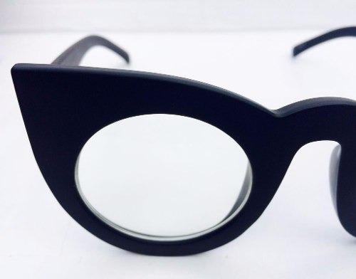 46737a62adfa2 Oculos De Grau Fendi Armação Preto Fosco Acetato - Grande - R  150 ...