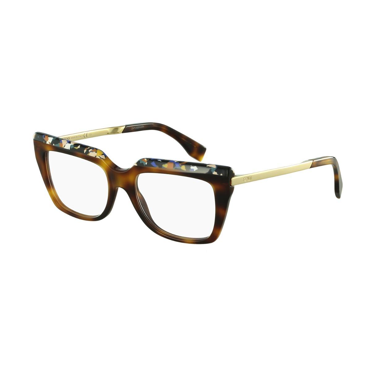 395777169585a Óculos De Grau Fendi Casual Marrom - R  1.399,00 em Mercado Livre