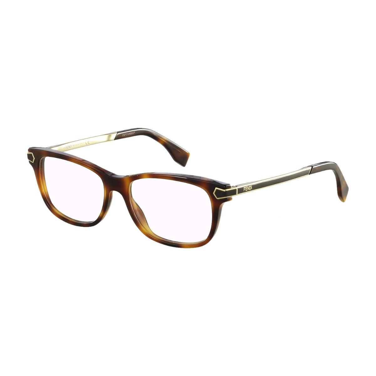 4d82946d184fc Óculos De Grau Fendi Casual Marrom - R  1.295,00 em Mercado Livre