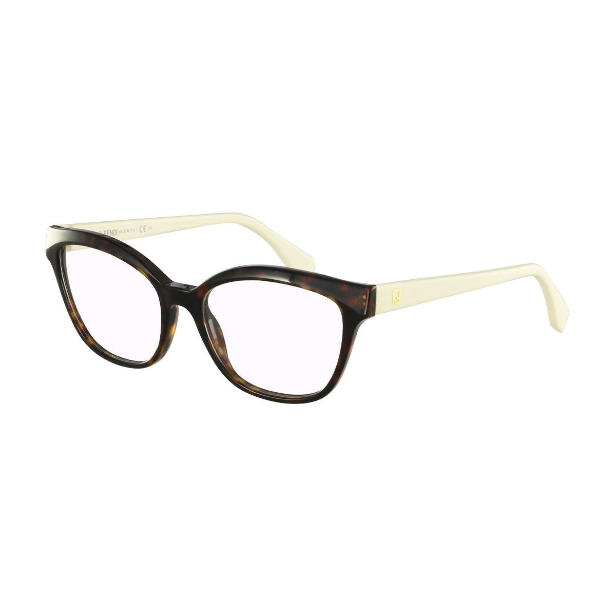 4471cd43aa437 Óculos De Grau Fendi Casual Marrom - R  999,00 em Mercado Livre