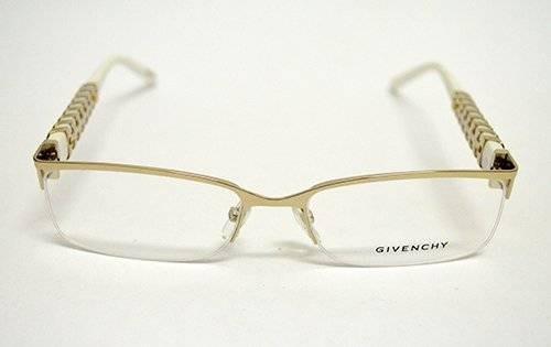 9dfcbefee43c9 Óculos De Grau Givenchy Vgv 490 Metal Branco E Prata Médio - R ...