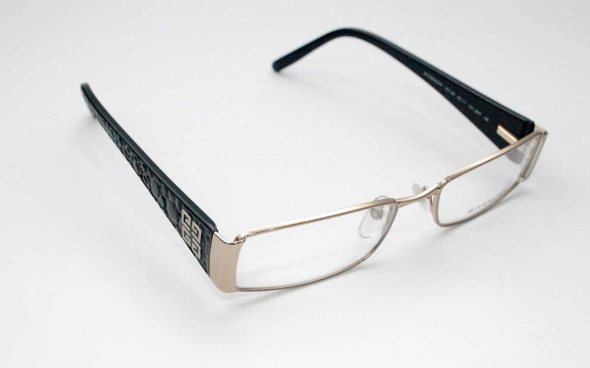 73ca97cd4f7af Óculos De Grau Givenchy Vgv349 Preto - R  958,00 em Mercado Livre