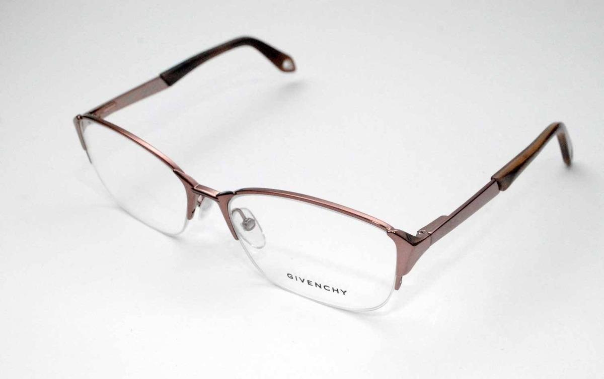 dd5ca6d43 Óculos De Grau Givenchy Vgva20 Rosê Metal Médio - R$ 1.350,00 em ...