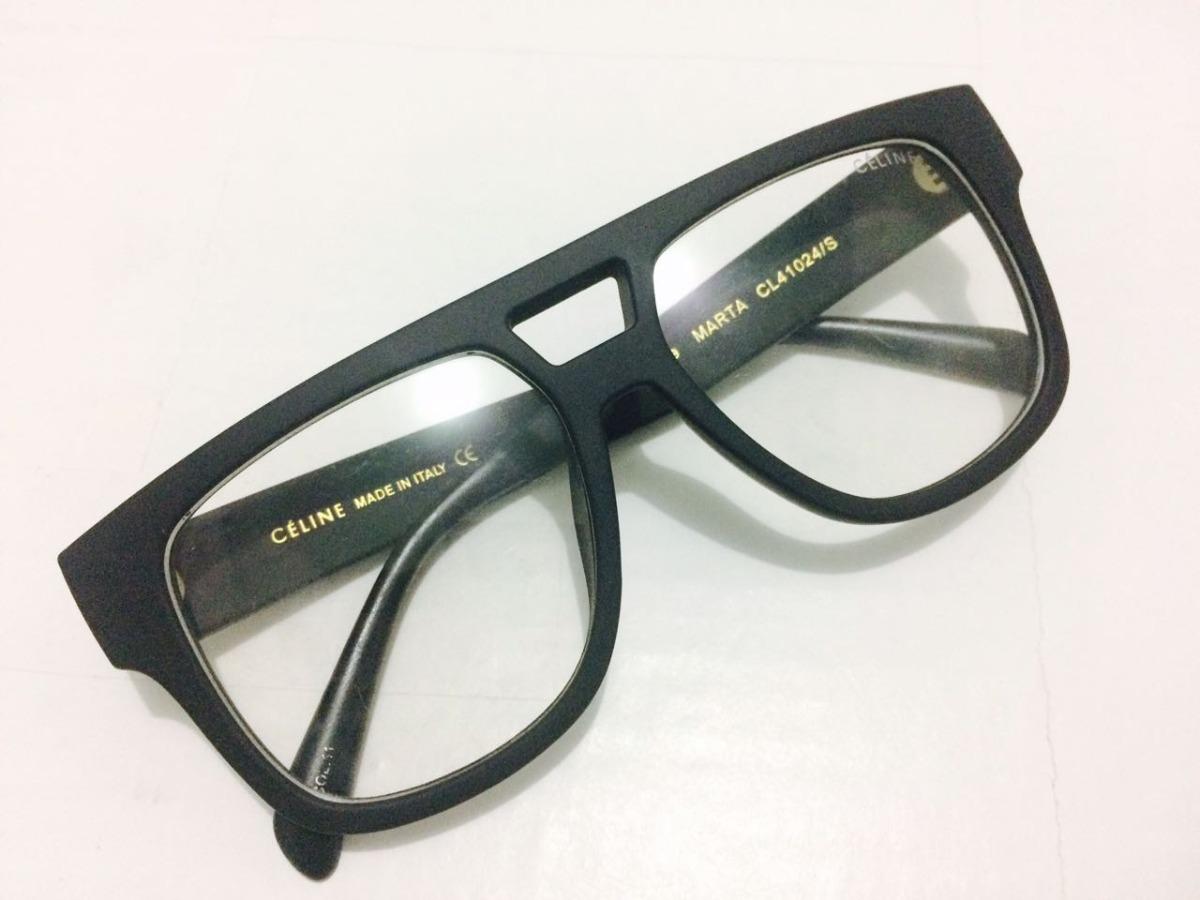 b3dbcf6a60d oculos de grau grande celine armação preto fashion -ce401. Carregando zoom.