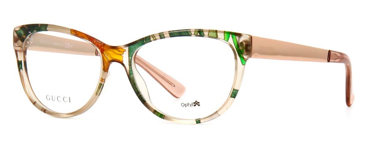 Óculos De Grau Gucci Flora Silk Gg3742 2fx - R  1.448,00 em Mercado ... 91556c5f00