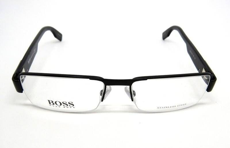 6aa0986be óculos de grau hugo boss masculino boss0379 preto metal. Carregando zoom.