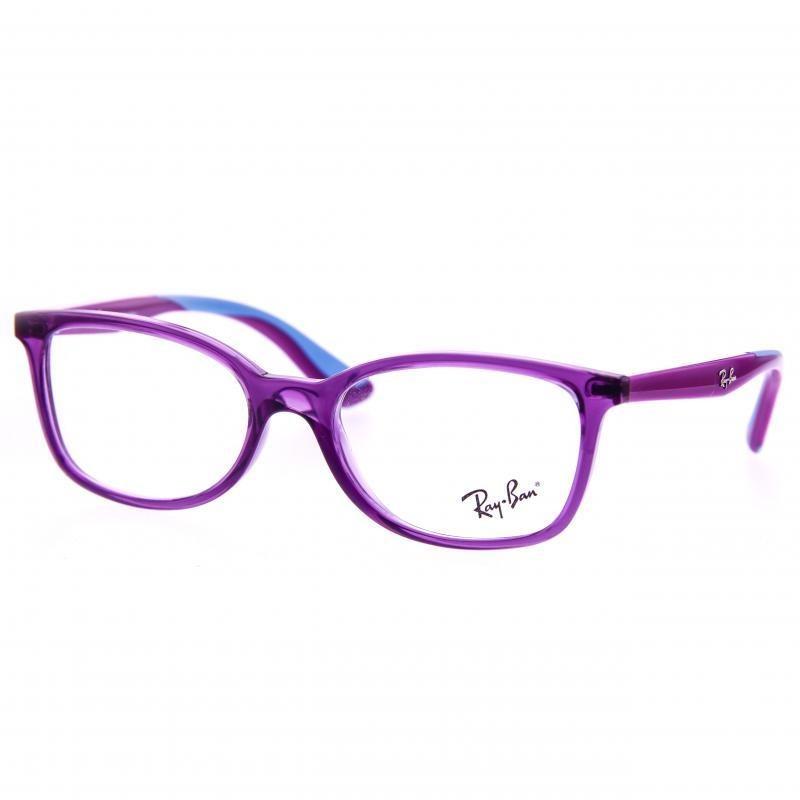 99d6bcaf7 Oculos De Grau Infantil Menina Ray Ban Quadrado Roxo - R$ 285,00 em ...