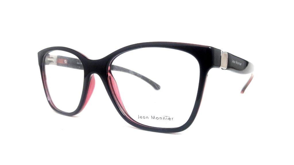 Óculos De Grau Jean Monnier J8 3165 F311 - R  303,37 em Mercado Livre 3350e06e16
