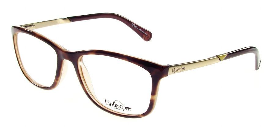 e5fe142dc2419 óculos de grau kipling kp3061 c282 tartaruga lente tam 51. Carregando zoom.