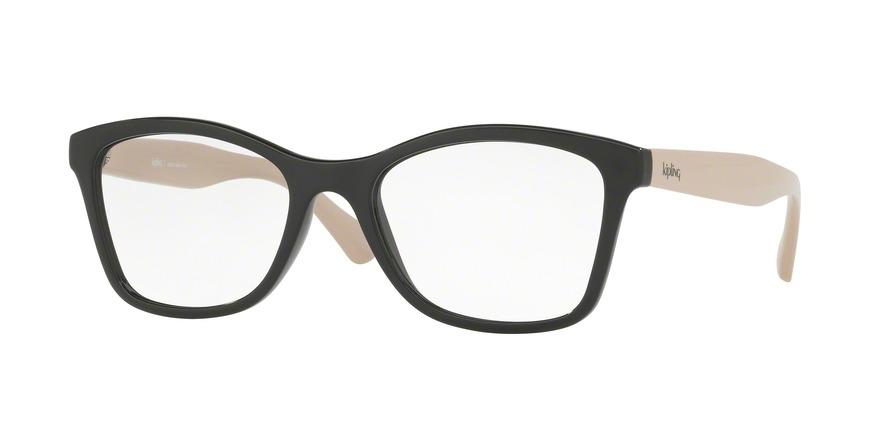 Carregando zoom... óculos de grau kipling kp3087 e444 preto nude lente tam  53 d19dfbdaf7