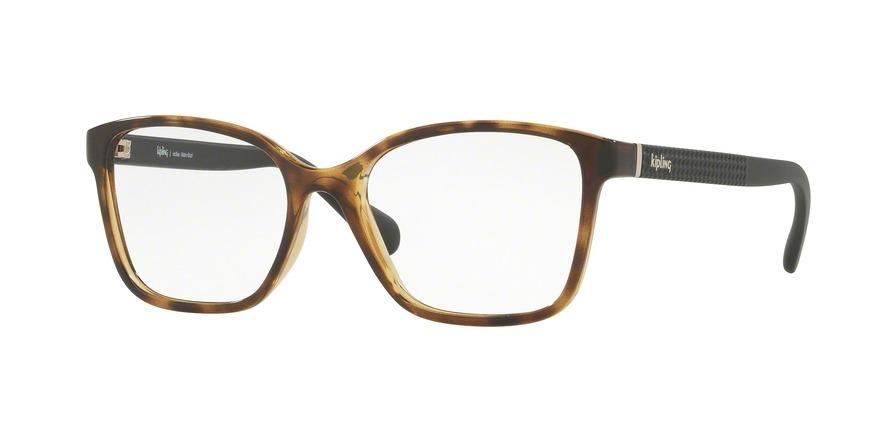 dd572403e44d4 Carregando zoom... óculos de grau kipling kp3101 f296 tartaruga lente tam 51