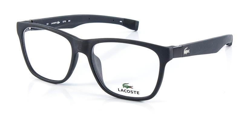 d82cb7d979630 Óculos De Grau Lacoste L2713 Preto - R  615,00 em Mercado Livre