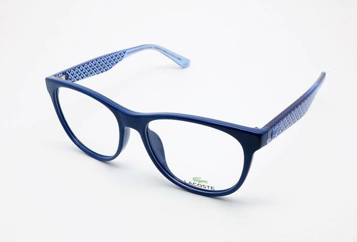 44e3f9d402530 Óculos De Grau Lacoste L2773 424 Azul - R  453