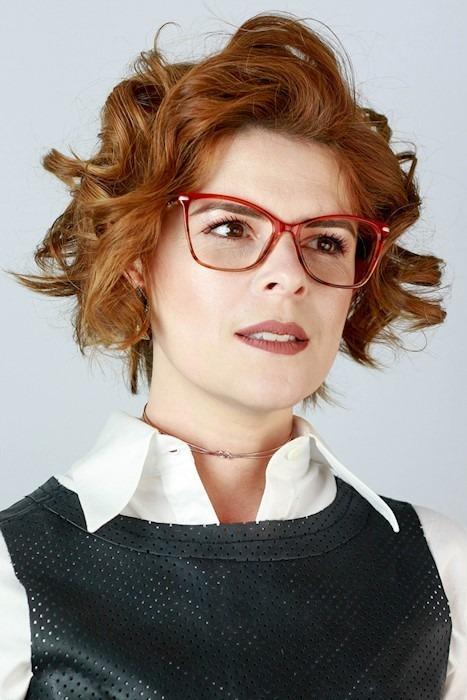 Óculos De Grau Ma Chérie Emília Gatinho Quadrado Laranja - R  148,90 ... c22a55dc45