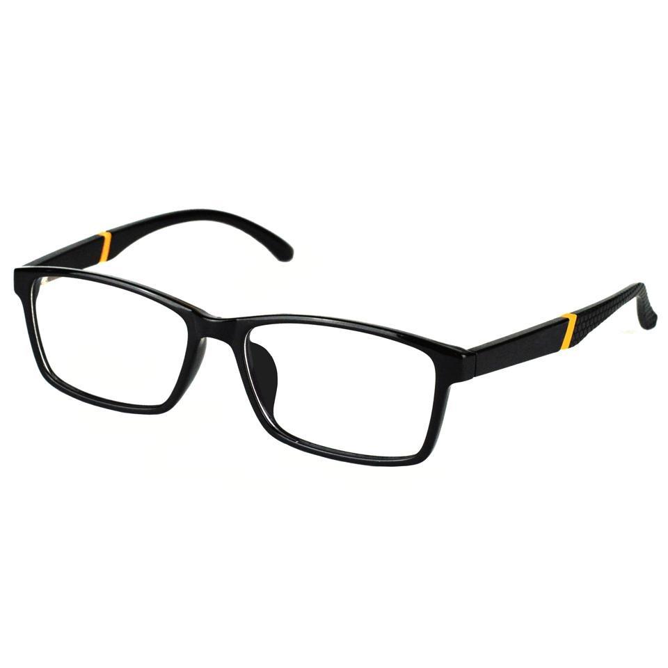 4dd37b38e94b1 Óculos De Grau Masculino Basico Casual Preto 7007 - R  78,50 em ...