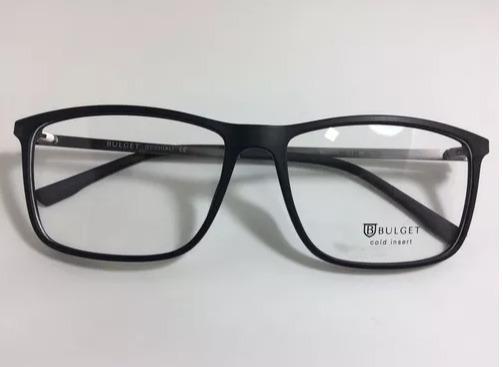 824d422a7a194 Óculos De Grau Masculino Bulget Bg4039l T01 - Preto Fosco 22 - R ...