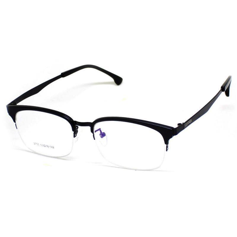 3dbb5b1e27430 óculos de grau masculino cannes 2755 t 53 c casual preto. Carregando zoom.