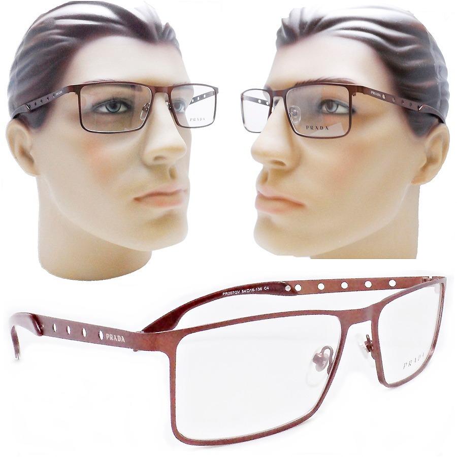 39ba32456 oculos de grau masculino grife 2019 titanio fechado marrom. Carregando zoom.