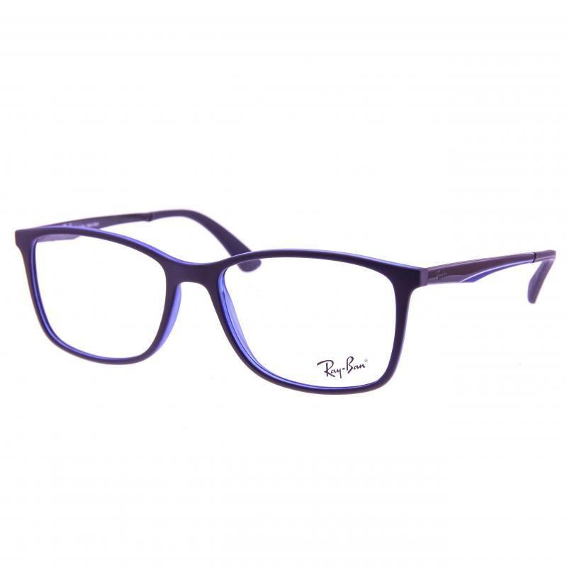 7dc77f5c4 oculos de grau masculino ray ban quadrado dia a dia roxo. Carregando zoom.