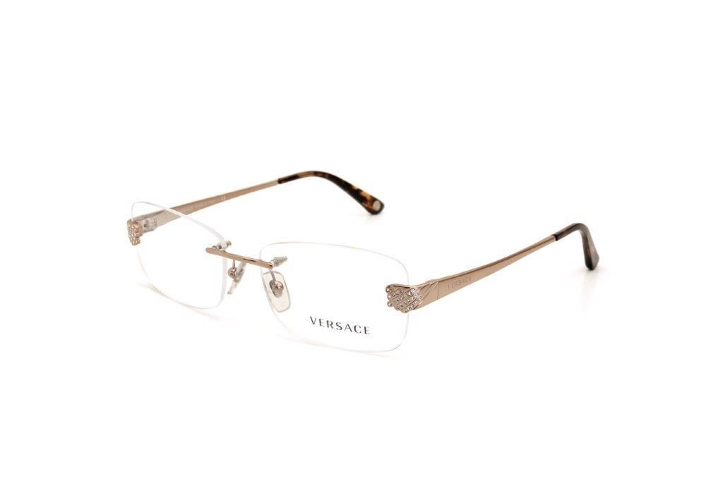 Óculos De Grau Metal Versace Feminino Dourado - R  450,00 em Mercado ... 79aa1f6ec6
