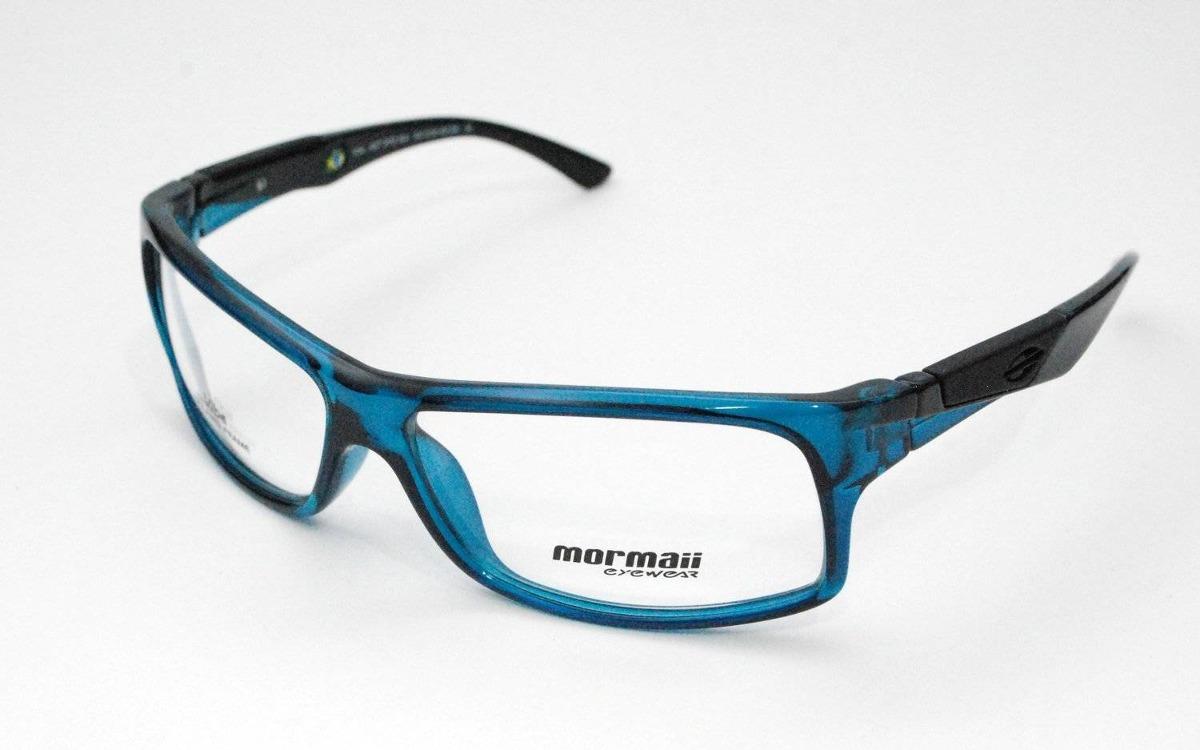 f15a517e24688 óculos de grau mormaii vibe 1127 azul com preto. Carregando zoom.
