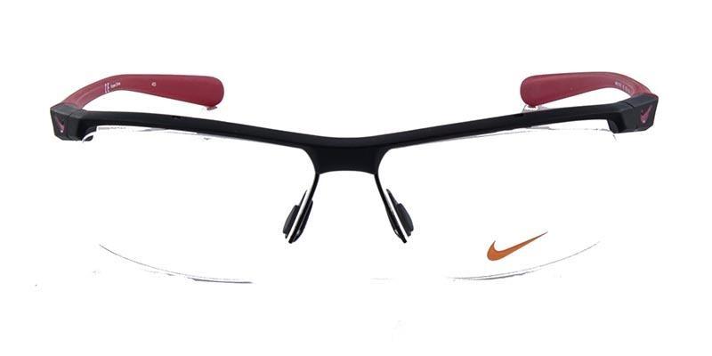 16761faa3b094 Óculos De Grau Nike 7075 Preto - R  685,00 em Mercado Livre