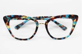 1f3d6c377 Oculos De Grau Feminino Gatinho Absurda - Óculos no Mercado Livre Brasil