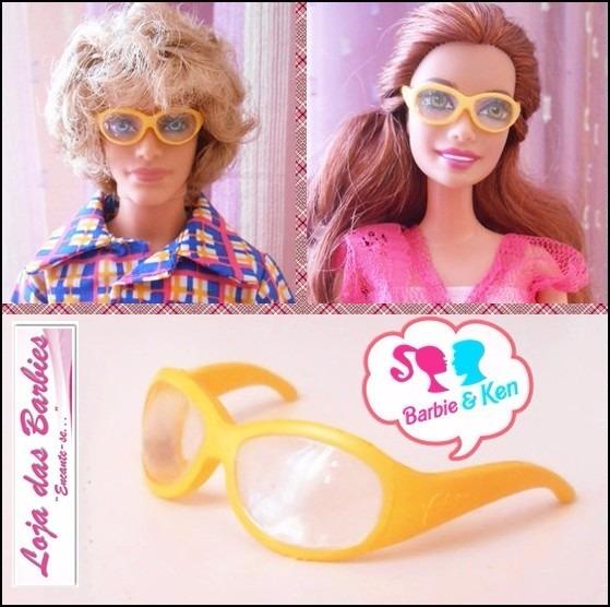 0f05fe821392b Óculos De Grau Para Boneca Barbie Ken Fashion Royalty 10 - R  12,00 em  Mercado Livre