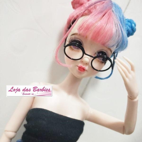 f196e18de Óculos De Grau Para Boneca Kelly Barbie Pure Neemo Susi Ken - R$ 19 ...