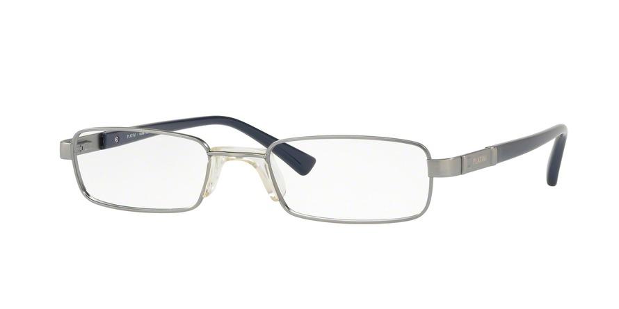 Óculos De Grau Platini P91172 F199 Prata Lente Tam 53 - R  192,00 em ... 3e62ea3241