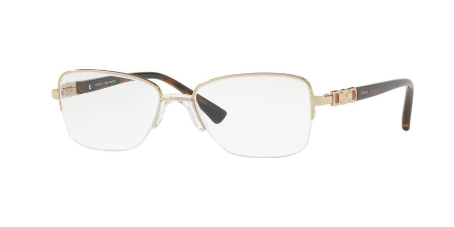 Óculos De Grau Platini P91173 F191 Ouro Lente Tam 52 - R  192,00 em ... be221e8341
