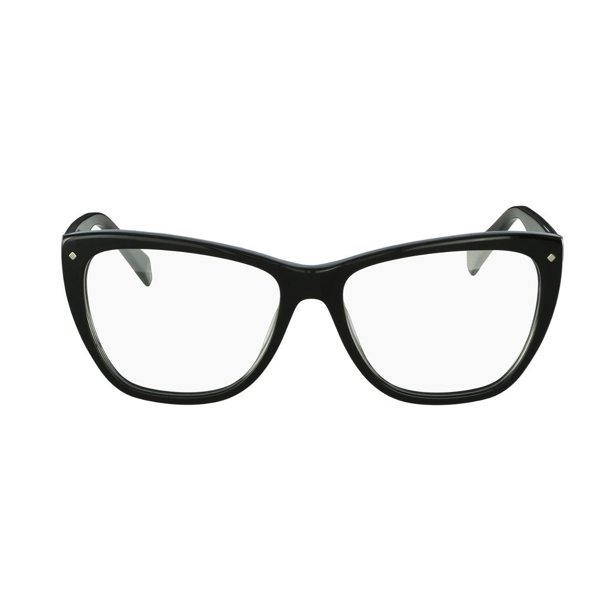 0ef94563653a6 Óculos De Grau Polaroid Casual Preto - R  249