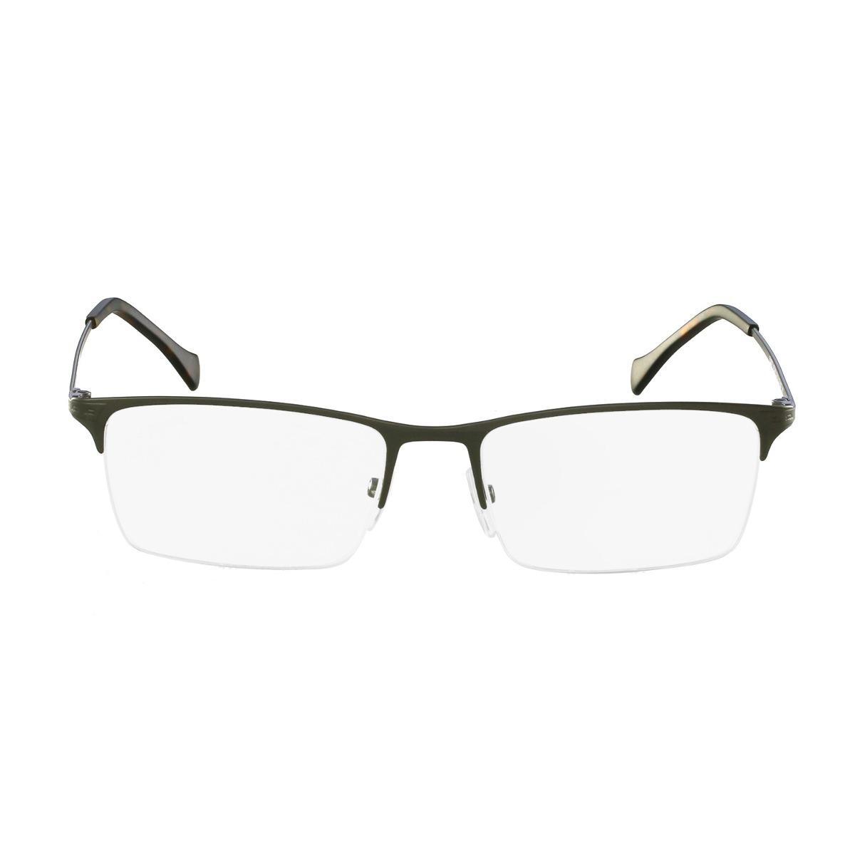 f63bac34e3868 Óculos De Grau Police Clássico Cinza - R  616,00 em Mercado Livre