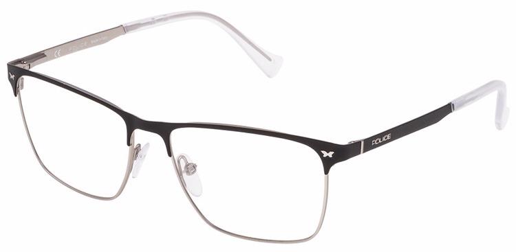 fcf14872f Óculos De Grau Police Shot 1 Vpl287 0w01 - R$ 605,90 em Mercado Livre