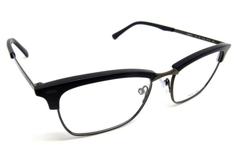 c8b26b2175dc9 óculos de grau police vpl135 preto fosco metal médio. Carregando zoom.