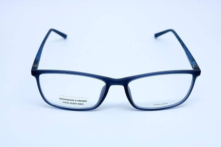 8ea07e5fc Óculos De Grau Police Vpl255 Azul - R$ 515,00 em Mercado Livre