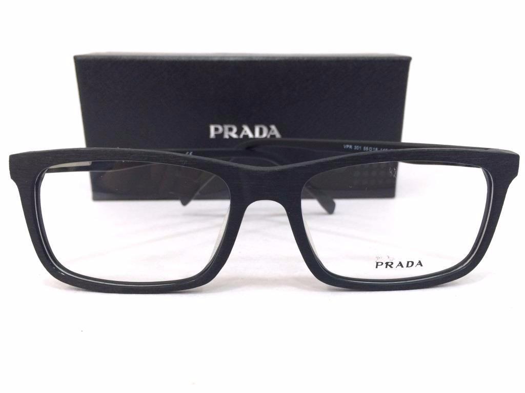 cb58e805d óculos de grau prada armação quadrada retangular em 4 cores! Carregando zoom .