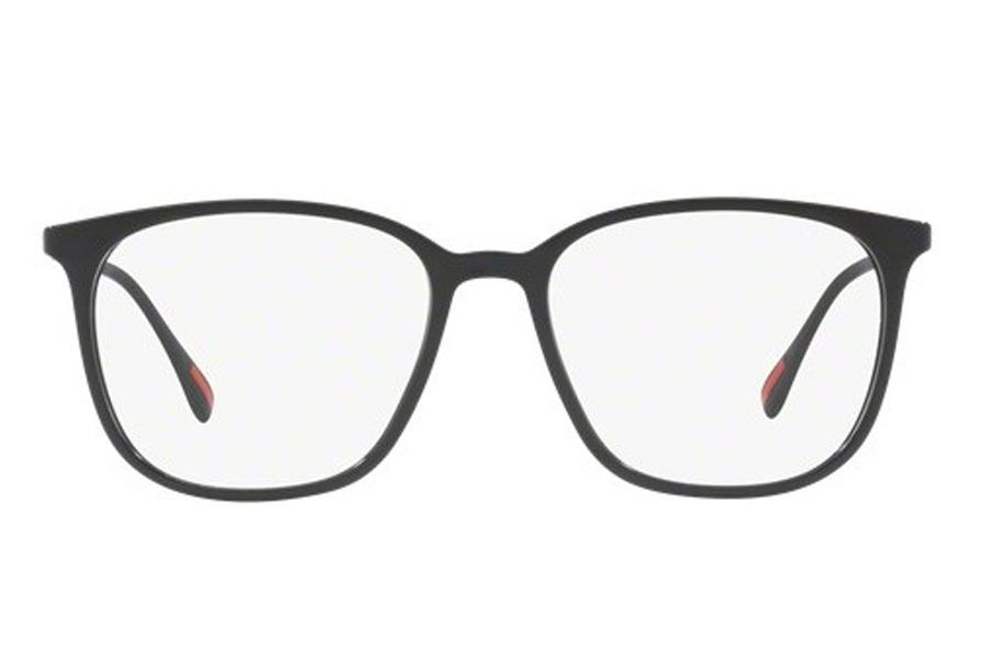 óculos de grau prada linea rossa ps 03iv 1ab1o1 54 preto. Carregando zoom. f3353f73d0