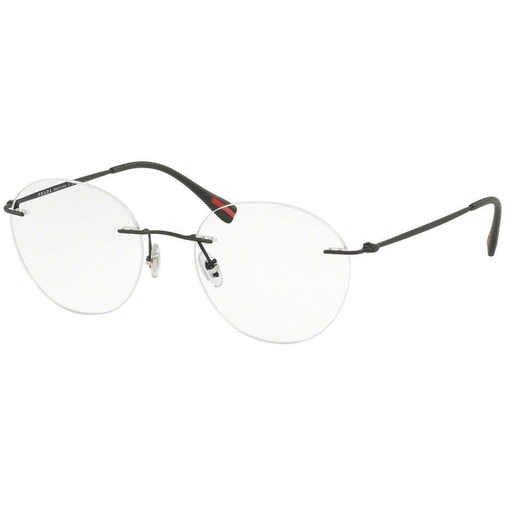 ... óculos de grau prada linea rossa ps52iv dg0-1o1 52x19 140. Carregando  zoom. e06f3485c5