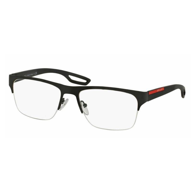óculos de grau prada linea rossa ps55fv dg0-1o1 56x18 140. Carregando zoom. 5a79ee6439