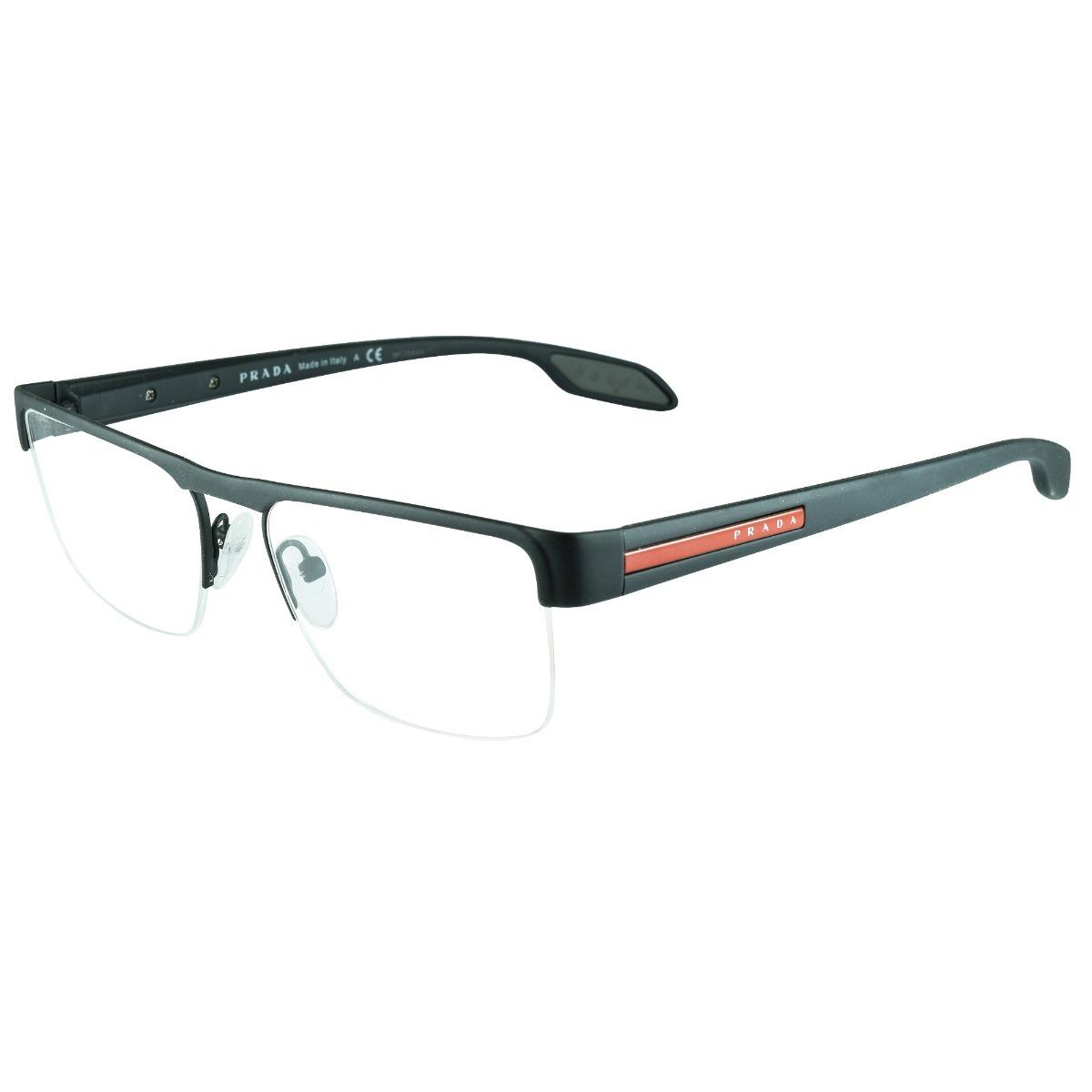 óculos de grau prada linea rossa ps57ev dg0-1o1 53x18 145. Carregando zoom. ac43496364