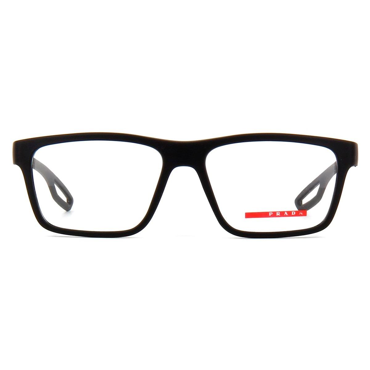 cf249a8d5 Óculos De Grau Prada Sport Vps07f Uap-1o1 - R$ 648,00 em Mercado Livre