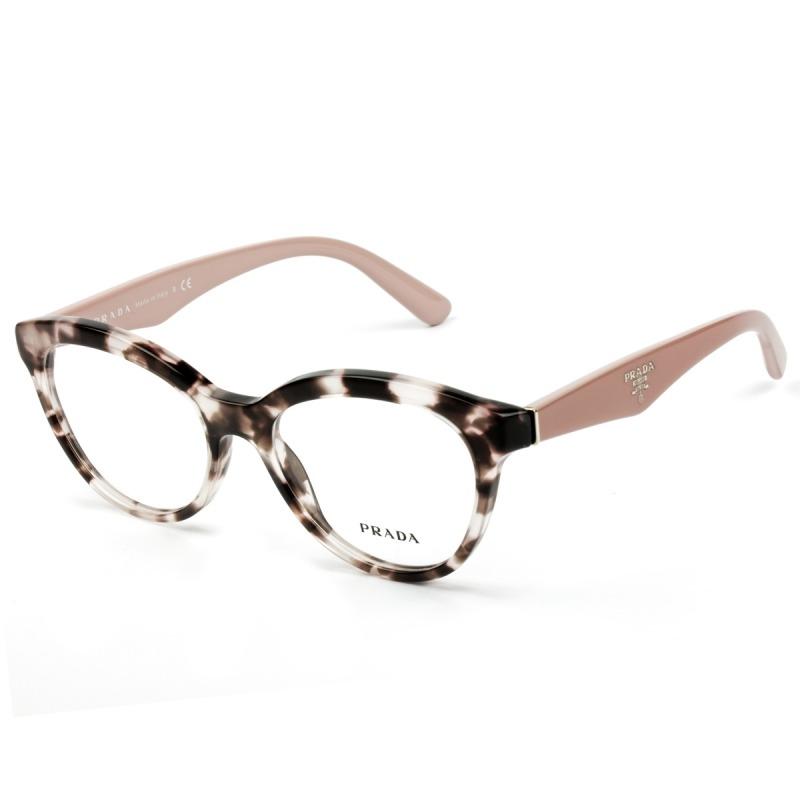 ad1f1f1002735 Óculos De Grau Prada - Vpr 11r Roj -101 52 - Nota Fiscal - R  895