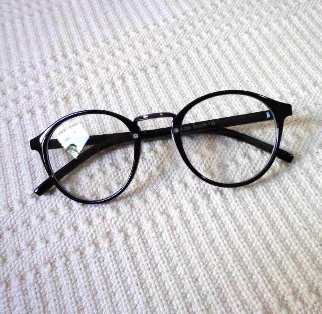 456aab9c531b7 óculos de grau preto armação estilo tumblr pinterest