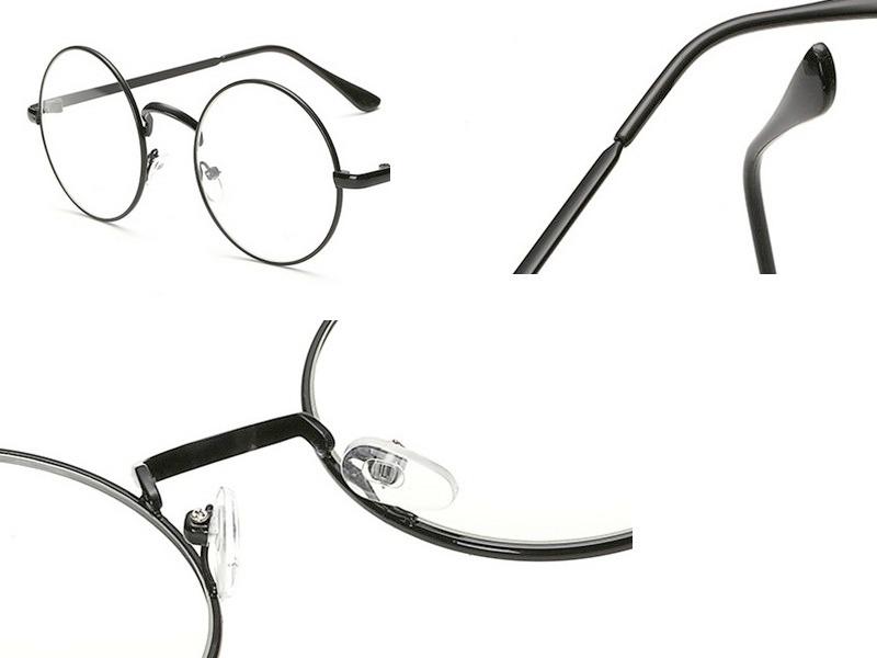 420e2ec21 óculos de grau preto armação lentes redondas nerd retrô. Carregando zoom.
