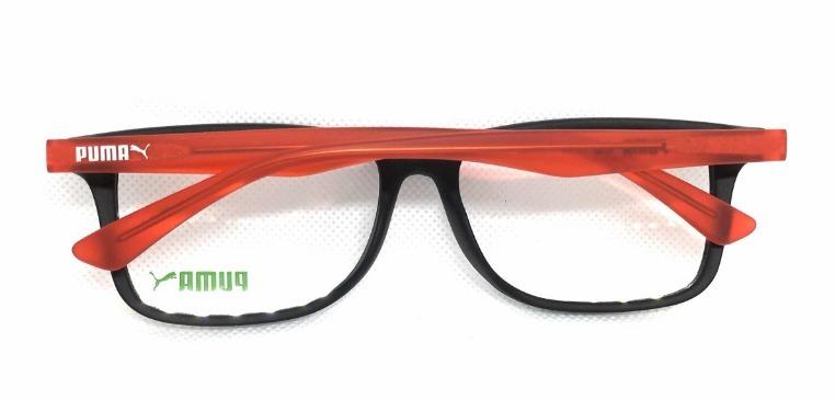 4d2a8f9a1 Óculos De Grau Puma Pe00340 005= 03 - R$ 239,00 em Mercado Livre