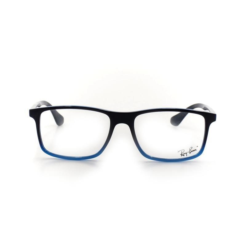 d55bf0f50 Óculos De Grau Ray Ban 7119 T 55 C 8024 Azul - R$ 430,00 em Mercado ...