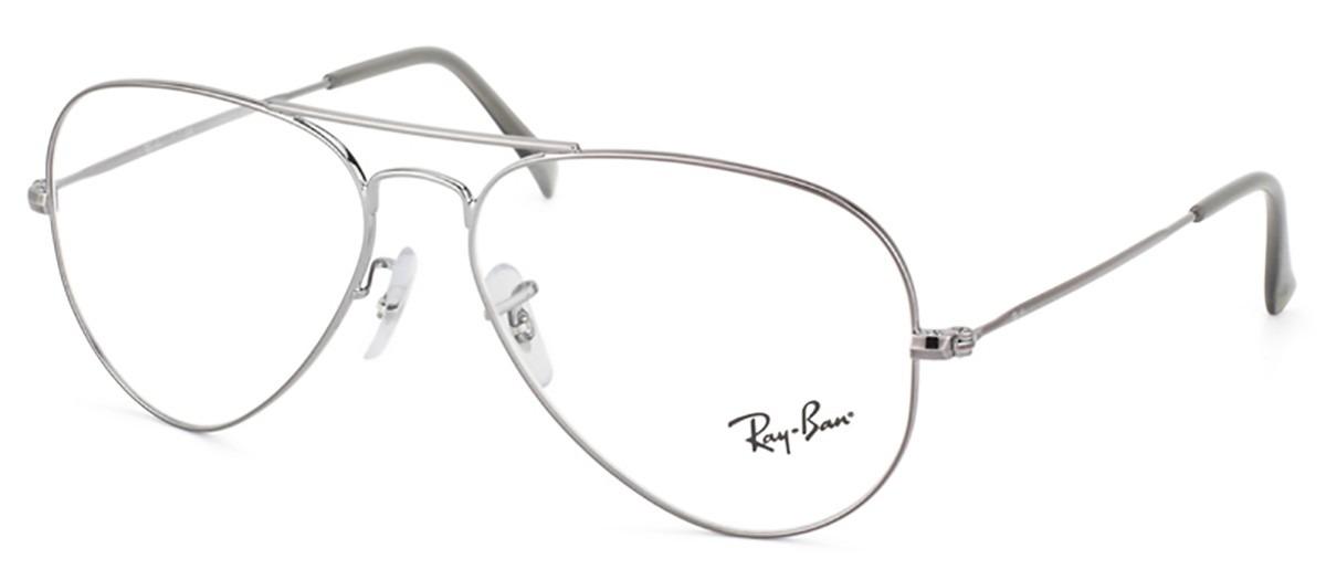 Óculos De Grau Ray Ban Aviador Rb6049 2502 - R  488,00 em Mercado Livre 957495e2ed